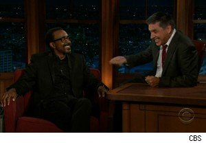 Tim Meadows and Craig Ferguson discuss football on 'The Late Late Show'