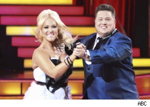 Lacey Schwimmer &amp; Chaz Bono'