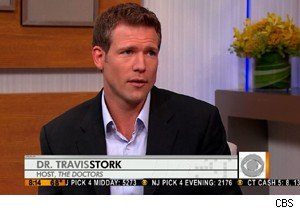 Dr Travis Stork talks stress relief on 'The Early Show'