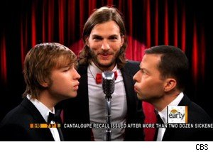 Ashton Kutcher talks 'Two and a Half Men' on 'The Early Show'