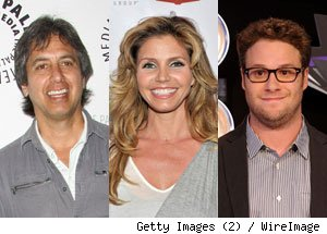 Ray Romano, Charisma Carpenter, Seth Rogen