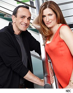 Hank Azaria &amp; Kathryn Hahn, 'Free Agents'