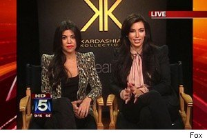 Kourtney and Kim Kardashian on 'Good Day New York'