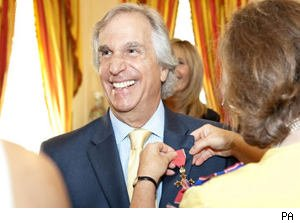 Henry Winkler is Awarded the OBE