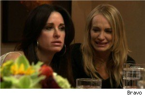 Kyle Richards and Taylor Armstrong