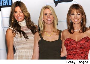 Kelly Bensimon, Alex McCord, Jill Zarin