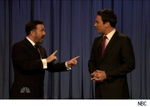 Ricky Gervais, 'Late Night with Jimmy Fallon'