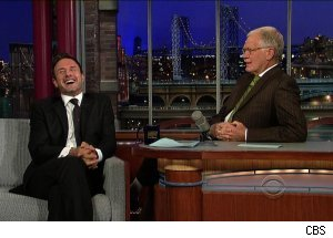 David Arquette, 'Late Show with David Letterman'