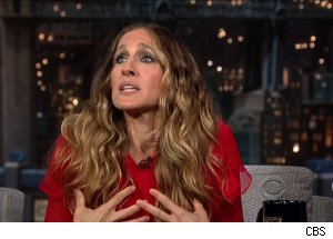Sarah Jessica Parker, 'Late Show with David Letterman'