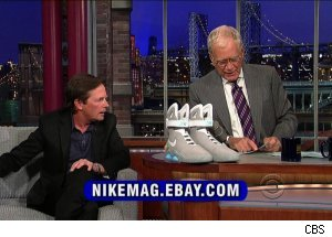 Michael J. Fox, 'Late Show with David Letterman'