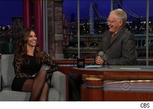Sofia Vergara, 'Late Show with David Letterman'