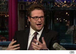 Seth Rogen, 'Late Show with David Letterman'