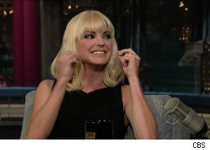Anna Faris, 'Late Show with David Letterman'