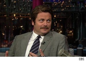 Nick Offerman, 'Late Show with David Letterman'