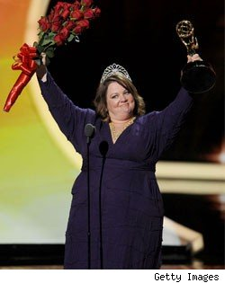 Melissa McCarthy Wins Her First Emmy as Fellow Nominees Rush the Stage