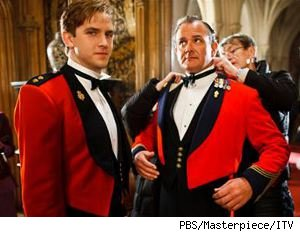Dan Stevens and Hugh Bonneville