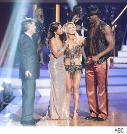 Tom Bergeron, Brooke Burke Charvet, Peta Murgatroyd, Ron Artest