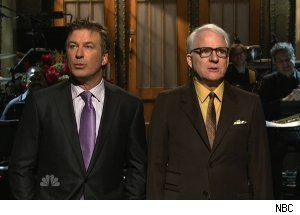 Alec Baldwin &amp; Steve Martin, 'Saturday Night Live'