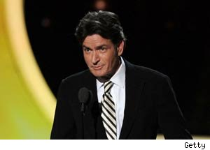 Charlie Sheen Keeps It Classy as Emmys Presenter