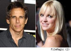 Ben Stiller, Anna Faris