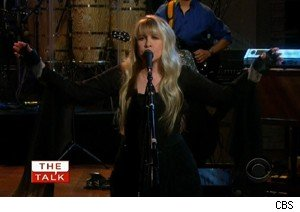 Stevie Nicks performs on 'The Talk'