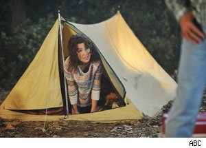 Patricia Heaton, The Middle, camping