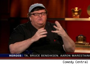 Michael Moore, 'The Colbert Report'