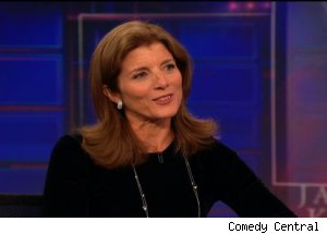 Caroline Kennedy, 'The Daily Show with Jon Stewart'