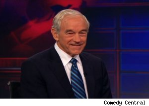 Ron Paul, 'The Daily Show with Jon Stewart'