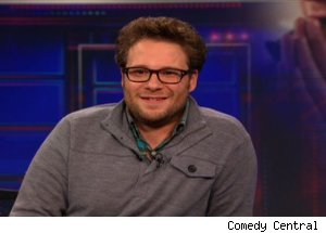 Seth Rogen, 'The Daily Show with Jon Stewart'