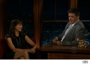 Rashida Jones, 'The Late Late Show with Craig Ferguson'