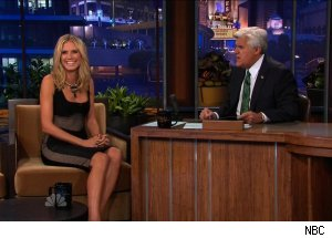 Heidi Klum, 'The Tonight Show with Jay Leno'