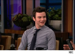 Chris Colfer, 'The Tonight Show with Jay Leno'