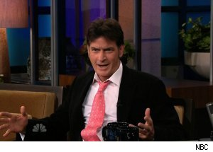 Charlie Sheen, 'The Tonight Show with Jay Leno'