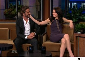 Gerard Butler & Whitney Cummings, 'The Tonight Show with Jay Leno'