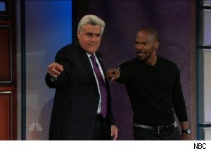 Jamie Foxx, 'The Tonight Show with Jay Leno'