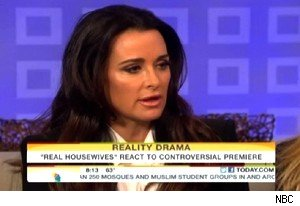 Kyle Richards talks about 'Real Housewives of Beverly Hills' on 'Today'