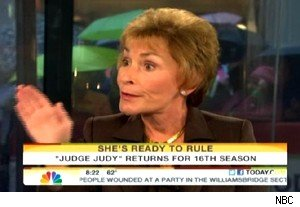 Judge Judy Sheindlin on 'Today'