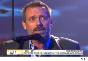 Hugh Laurie sings on 'Today'