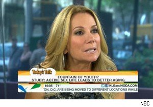 Kathie Lee Gifford talks about geriatric sex on 'Today'