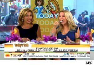 Hoda Kotb and Kathie Lee Gifford try Schweddy Balls on 'Today'