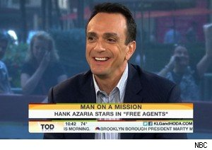 Hank Azaria talks about 'Free Agents' on 'Today'