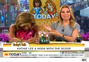 Kathie Lee Gifford and Hoda Kotb on 'Today'