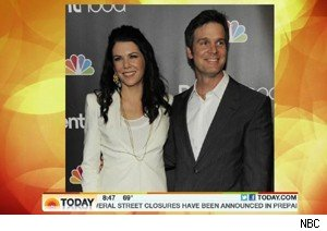 Lauren Graham and her boyfriend/brother Peter Krause on 'Today'