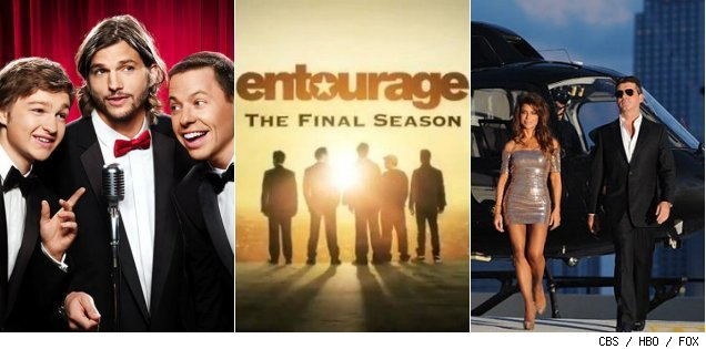 'Two and a Half Men' / 'Entourage' / 'The X-Factor'