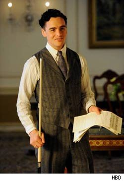 Vincent Piazza Talks Playing Lucky Luciano 'Boardwalk Empire' Season 2