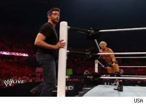 Hugh Jackman, 'WWE Monday Night Raw'