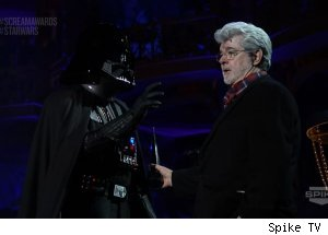 George Lucas, '2011 Scream Awards'