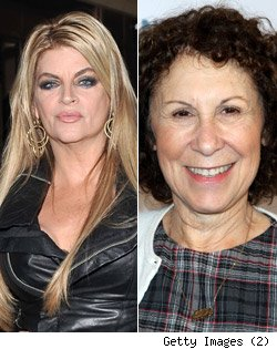 Kirstie Alley, Rhea Perlman reunion