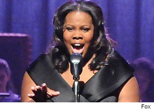 Amber Riley as Mercedes, 'Glee'